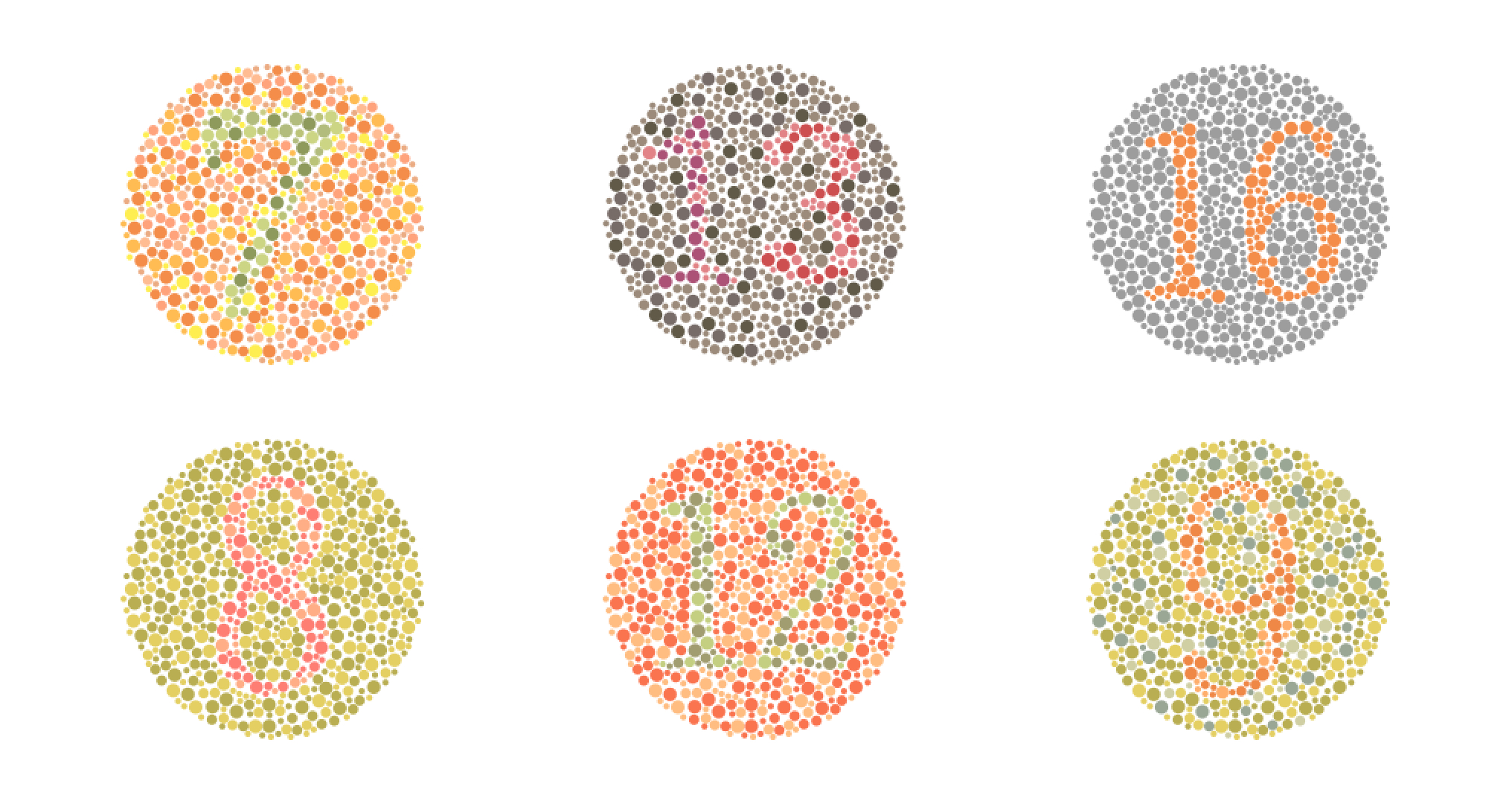 Colorblind-Isahara-Test