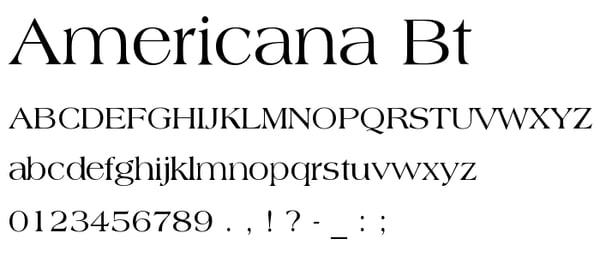 Americana-BT.ttf_
