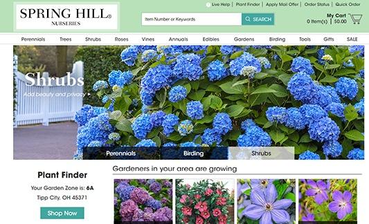 Gardens Alive Website