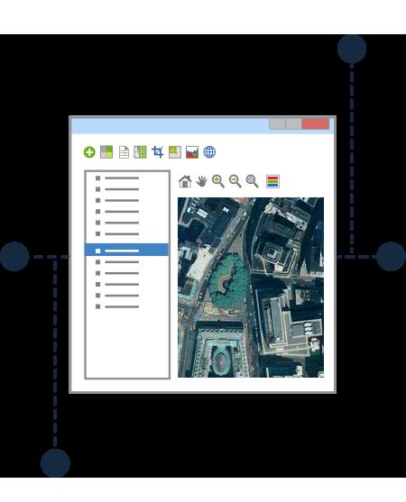 Intégrez votre imagerie à d'autres applications géospatiales