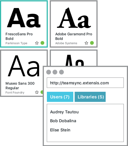 Sync Up and Share Your Fonts Across Your Team