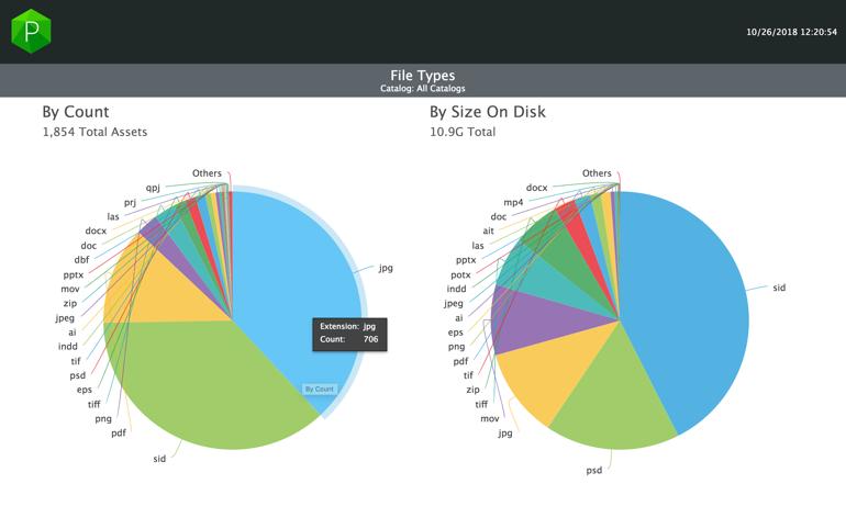 Portfolio 3.6 usage report UI