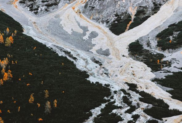 frozen-river-flowing-down-mountain-D