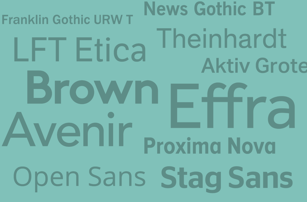 Top 10 Font Alternatives to Helvetica